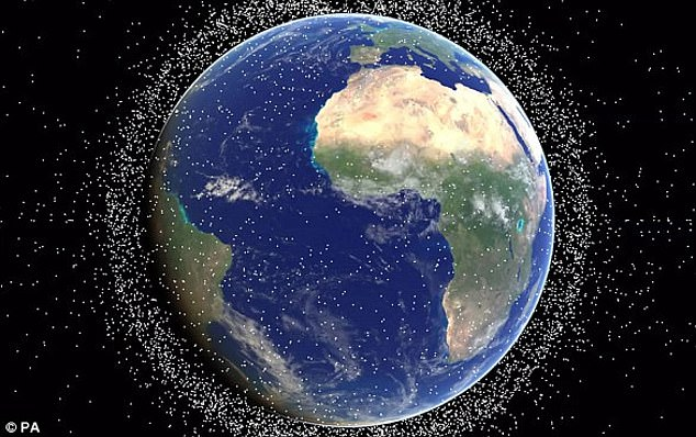 America is currently tracking 23,000 pieces of space debris larger than 10 cm (6ins) - the smallest that can be detected - and say the Indian test has added at least 60 objects of this size