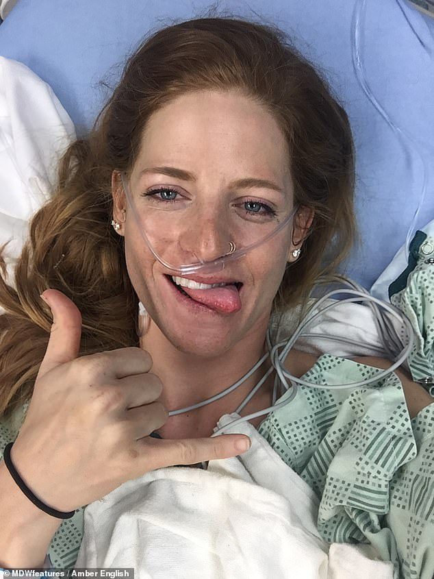 Miss English said her medical report says 'no comparison' when describing the severity of her injuries