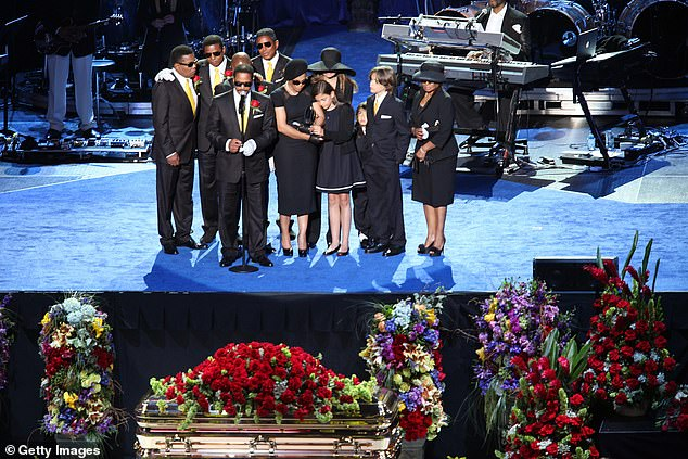 Past Services: The Staples Center has held memorial events for high-level people in the past ... The Michael Jackson Memorial was held there in 2009