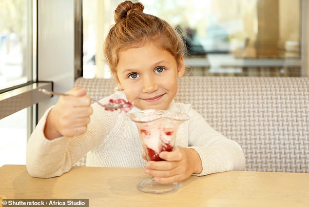 The Royal College of Paediatrics and Child Health urged free desserts that come as part of a fixed-price menu to be banned to curb childhood obesity