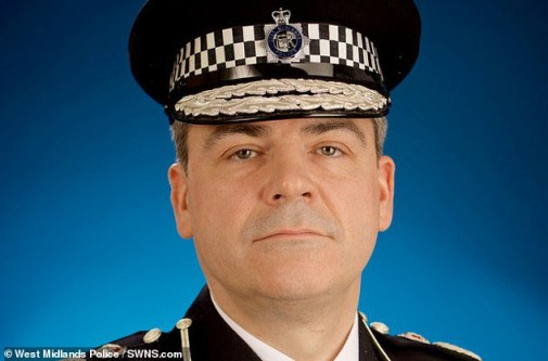 West Midlands Police Chief Constable David Thompson disclosed that his officers do not even give official warnings to young cannabis users because it would be 'disastrous for their life chances' [File photo]