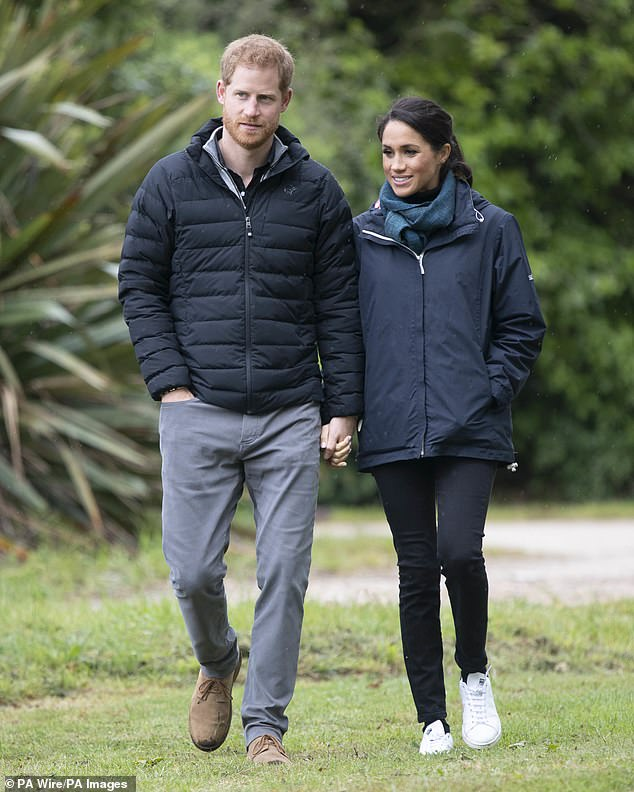 Enthusiastic chefs Harry and Meghan build their own herbs, fruits and vegetables at Frogmore Cottage on Queen's Windsor Estate