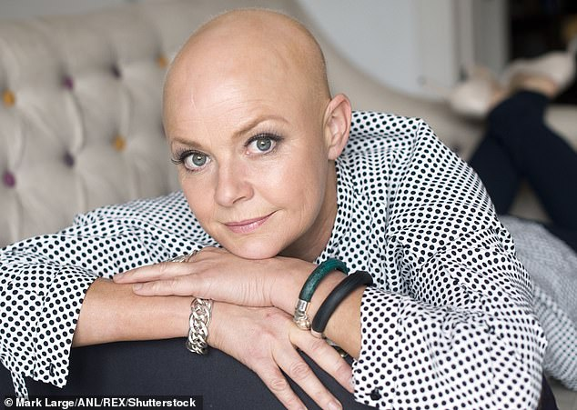 Gail Porter, checking her breasts, as she did regularly, felt clearly discernable lumps last summer