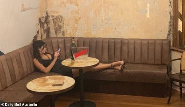 Need a minute?It appeared that the excitement proved a little too much for Bachelor In Paradise star Megan Marx, who was photographed slumped alone in the VIP area