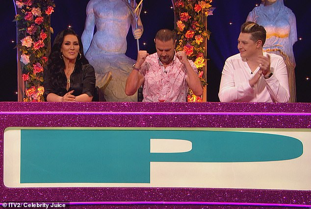 On the show: Also joining the panel this week are singer John Newman (pictured right) and Ru-Paul's Drag Race judge Michelle Visage (left)