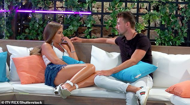 'It wasn't working': Last month, The Sun reported that Georgia insinuated she was pressured to stay with her Love Island ex Sam after leaving the villa