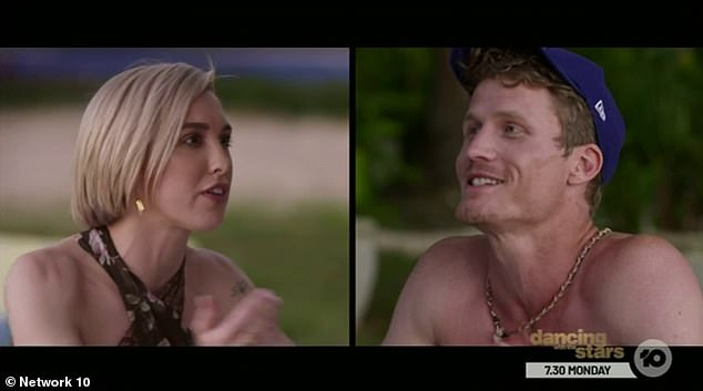 Dirty laundry: In an 'unedited and uncensored' conversation on Wednesday's episode of Bachelor in Paradise, Alex and Richie spoke about their bitter split from two years ago