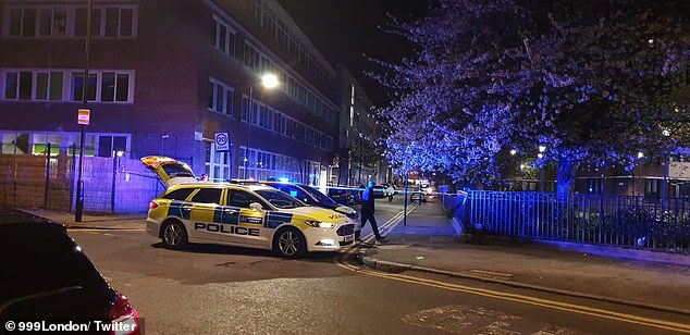 Metropolitan Police officers were called at 7.19pm on Wednesday evening to Arcola Street, Hackney