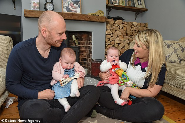 Following doctors' concerns, the couple were asked if they wished to terminate the pregnancy - which they didn't think twice about saying no to