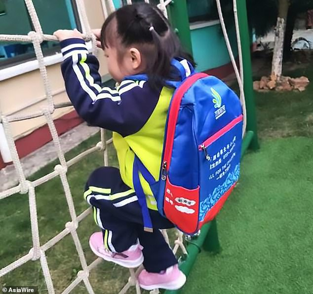 The girl's mother only realised her daughter was missing when she went to fetch her from school and was told the girl never showed up, according to Hunan Broadcasting Station