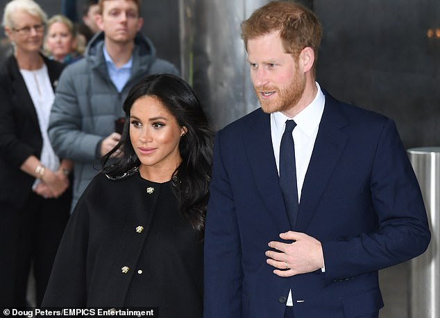 Prince Harry and Meghan Markle visit New Zealand House in London last month on March 19