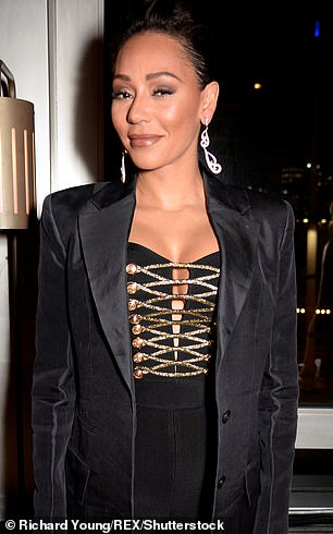 Mel B is back on with former nude model Danny Lopes