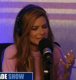 The 40-year-old Sirius XM host revealed in July 2017 she had a tumor the size of a golf-ball and that she's undergone surgery to remove it. Pictured: Menounos on Fox News Radio