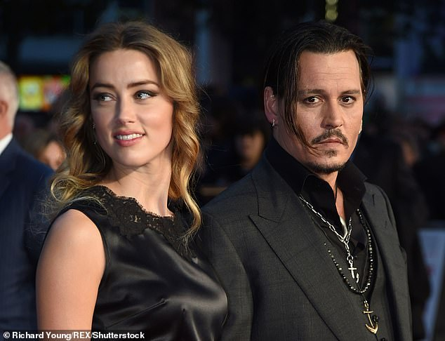 Depp has long denied the allegations and has instead claimed that his ex-wife repeatedly violently attacked and severely injured him. The pair are seen together in October 2015