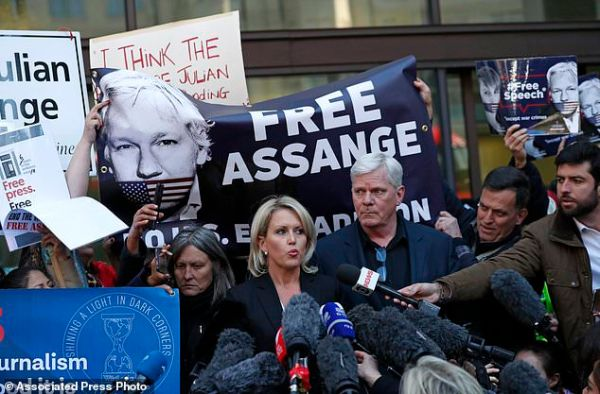 Stage set for epic extradition fight over WikiLeaks ...