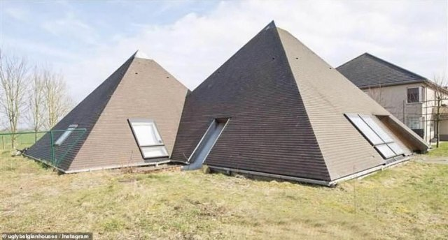 Twin peaks: Why have one strange pyramid home when you can have two?