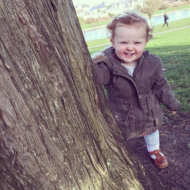 Lottie's parents noticed she suffered from severe chest infections during summer but was fine in winter. However, it took doctors more than a year to diagnose her with seasonal asthma