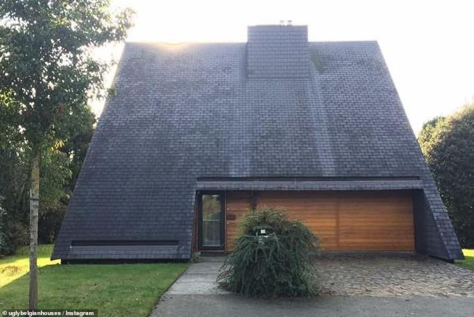 There's probably a lovely house lurking somewhere inside this roof