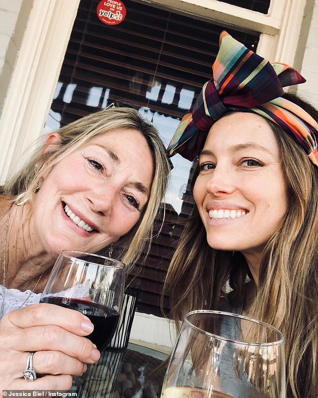 Here's to mom! Last Mother's Day, Jessica paid tribute to her mom with a gushing social media post