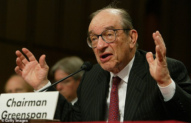 Greenspan, who was known as the 'Maestro' during his 19-year tenure which ran from the Reagan to the George W. Bush administrations, said the cost of Social Security and Medicare would eventually push economic growth off a cliff