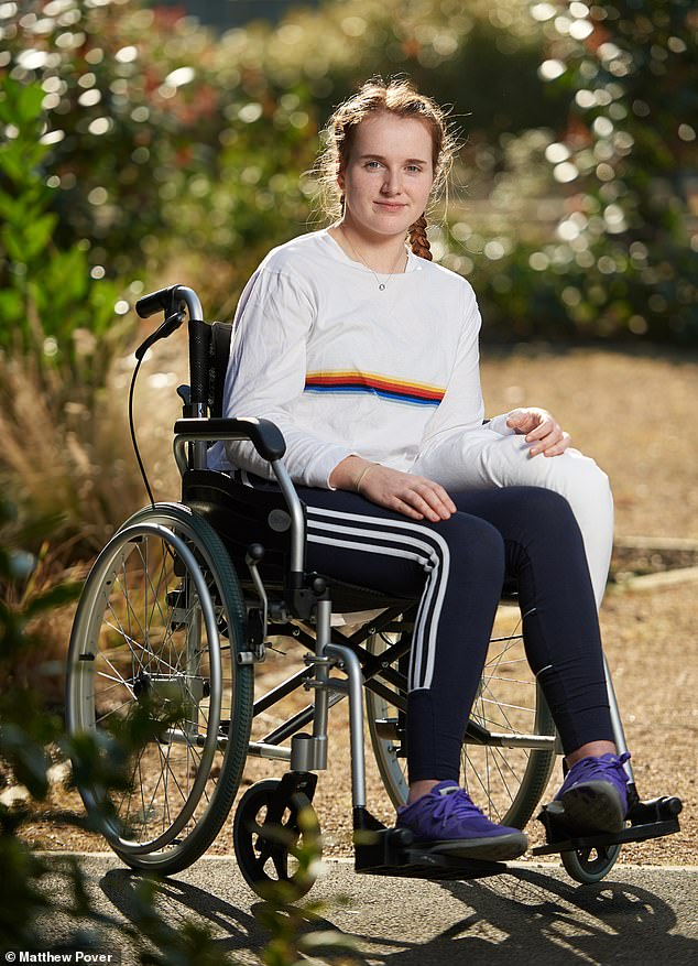 Just months afterwinning two gold medals in the 2017 under-18 kayaking world cup,Georgia Carmichael had suffered a devastating seizure, leaving her paralysed from the waist down and reliant on round-the-clock care