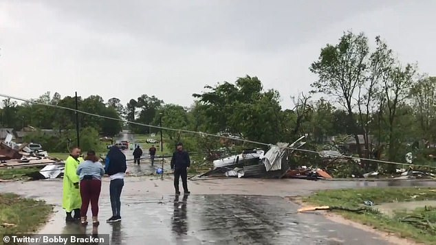 Multiple homes were destroyed in the tornado but there are no reports of fatalities