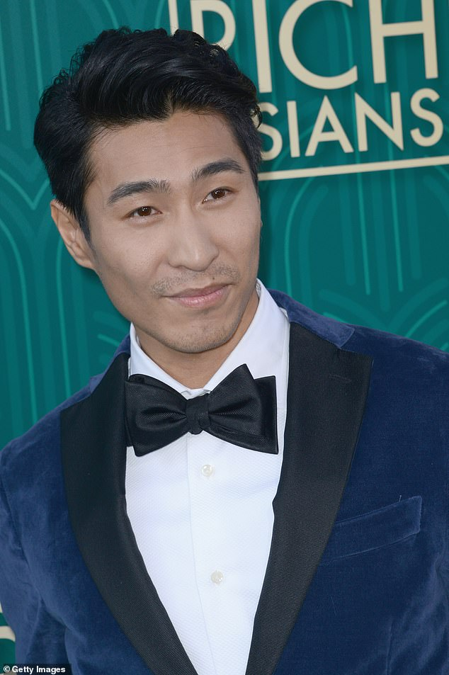 Achievement: Australian Chris Pang (pictured) has revealed Crazy Rich Asians has lifted his career so much he can now turn down directors whose films he would have previously paid to be in