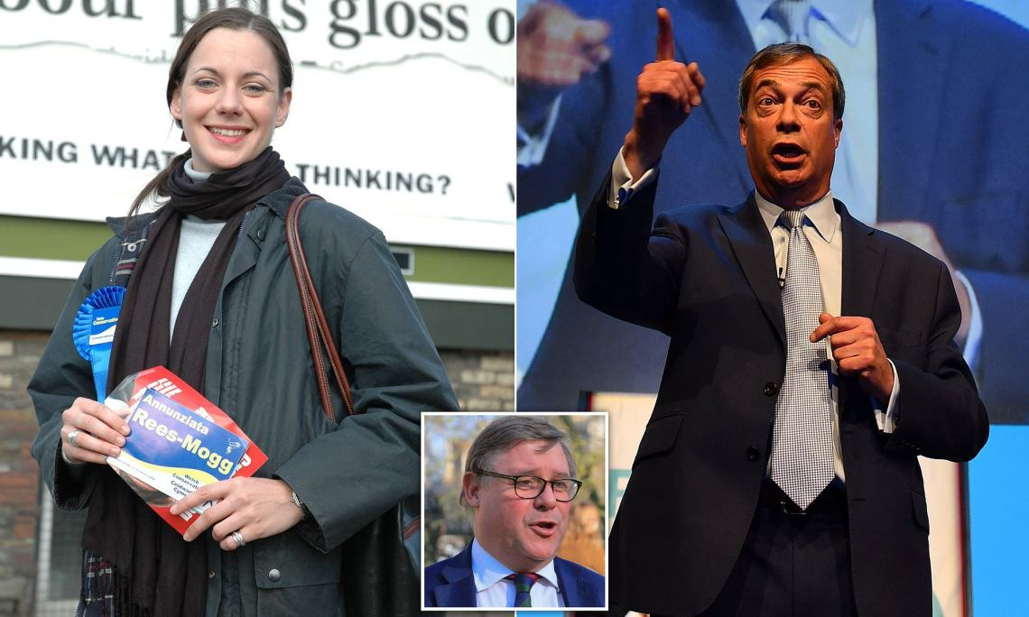 Image result for Tories hit by worst poll result 'in 16 years' as supporters flock to Nigel Farage's Brexit Party