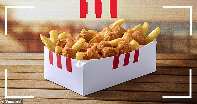 KFC Australia has unveiled another off-menu item called'The Kentucky Snack Pack' just weeks after foodies discovered a little-known feature hidden in the fast food chain's app