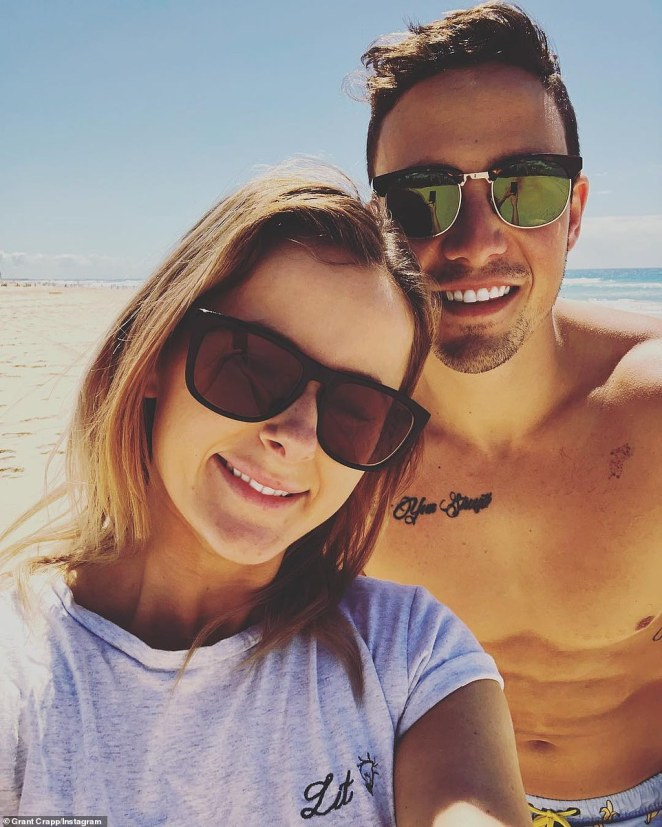 'I've been saving since I was 14 years old to own my own home': Grant purchased the property with girlfriend Lucy, who gushed over their achievement on Instagram