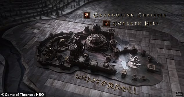 Thrilled: Other fans were thrilled to see the map of Westeros in so much detail in the credits