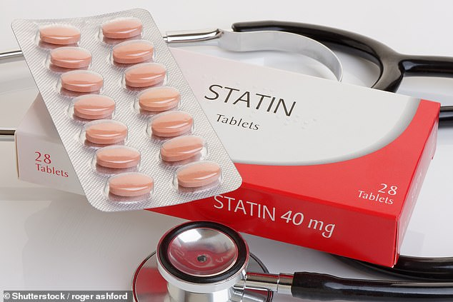 Statins are the most commonly prescribed drug in the world and an estimated 30 per cent of all adults over the age of 40 are eligible to take them (stock)