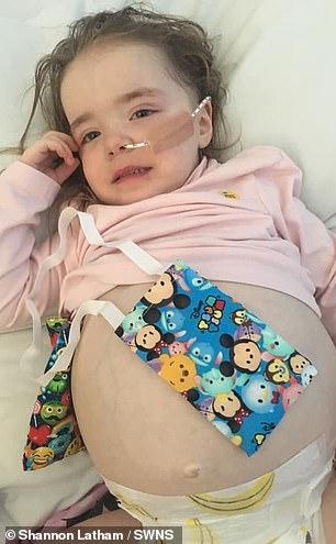 Seit der Diagnose am 1. April hat der Zweijährige eine Chemotherapie und Bluttransfusionen durchgemacht