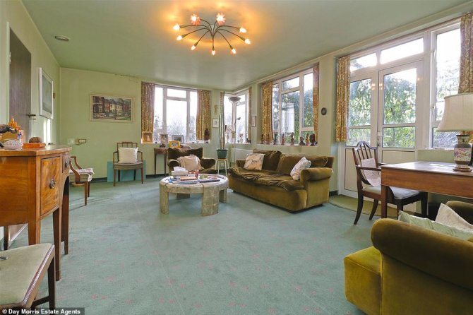 Built for a GP and his wife 65 years ago the couple's 91-year-old son has been living in the house for the past 20 years. Much of the furniture in the home is original from the years the couple lived in the home