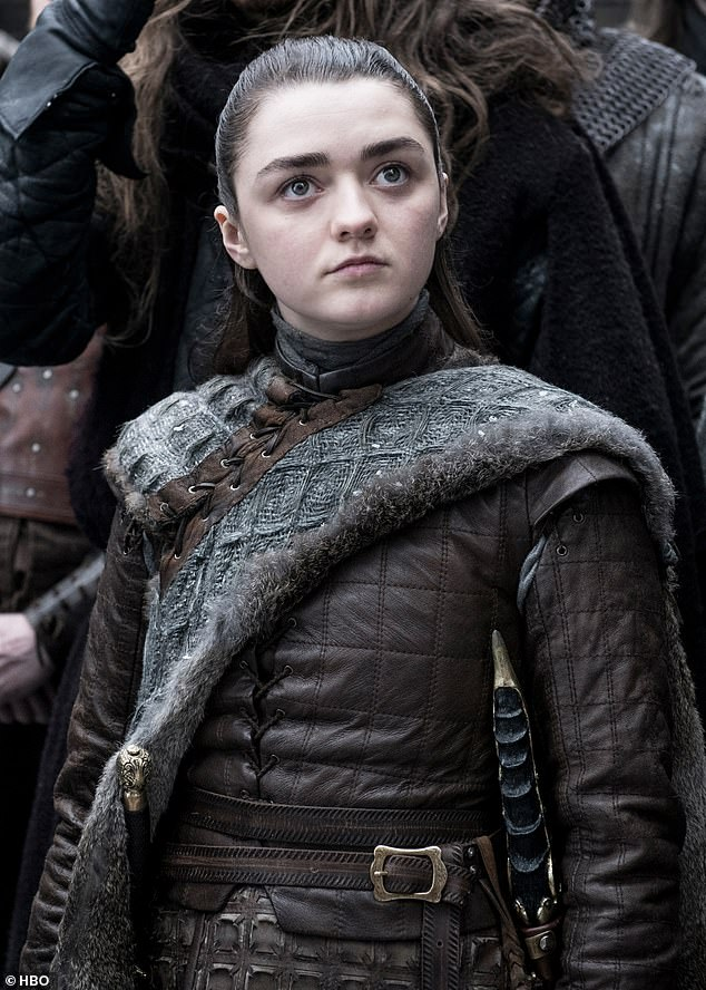 Challenges: The actress, 22, has been playing Arya Stark in the series since she was 11 years old, and stated that growing up in the HBO series has its own challenges