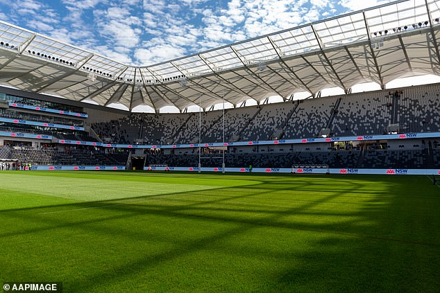 The 30,000 seat rectangle stadium will play host to NRL and A-League games