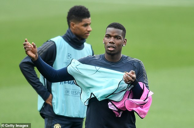 Paul Pogba's future at Manchester United is again under growing scrutiny