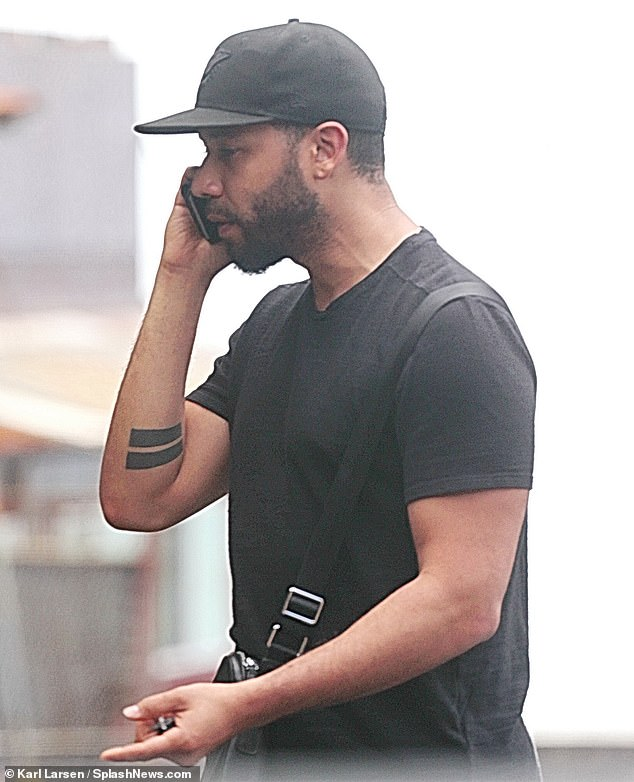 Jussie Smollett appeared tense during a heated phone call on his Hawaii getaway, telling a pal 'it's over, I got off' after all charges against him were dropped