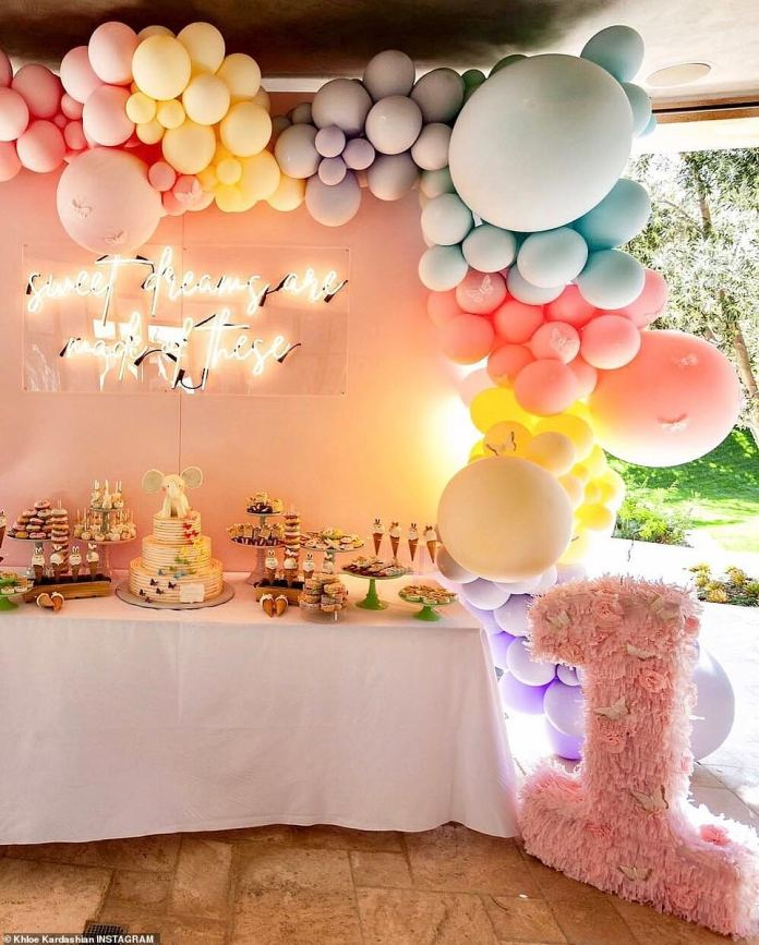 Sweet Tooth: The semi-Armenian beauty also offered goodies from Dip & Driddle, Qualatex Balloons, a donut wall, a Ball Pit from MESH Kids Co. and Pacific Organic Pops