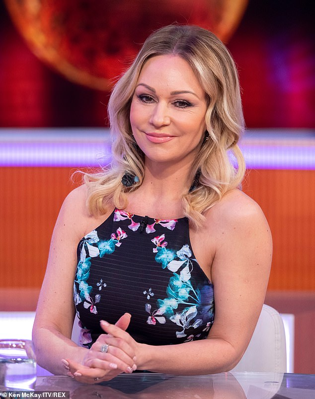 Discussion: Kristina appeared at Good Morning Britain on Tuesday, reporting on recent reports that 32-year-old presenter Stacey and her ex-partner Sam Tucknott were separated from dance partner Kevin, 36