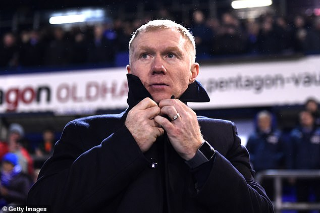 Paul Scholes was charged by FA with 140 misconduct charges