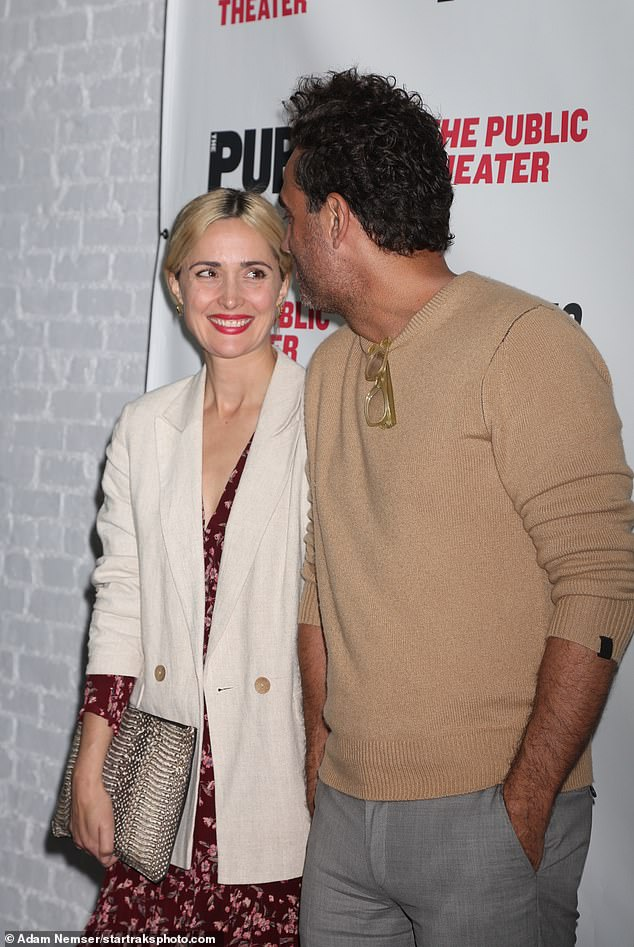 The look of love: At one stage, the Australian star and the American actor melted the hearts of onlookers as they gazed adoringly at each other during the event
