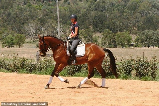 Courtney has interests in riding, travelling, pageants, and fitness. She is a successful dressage rider and a personal trainer with more than 42,000 followers on Instagram