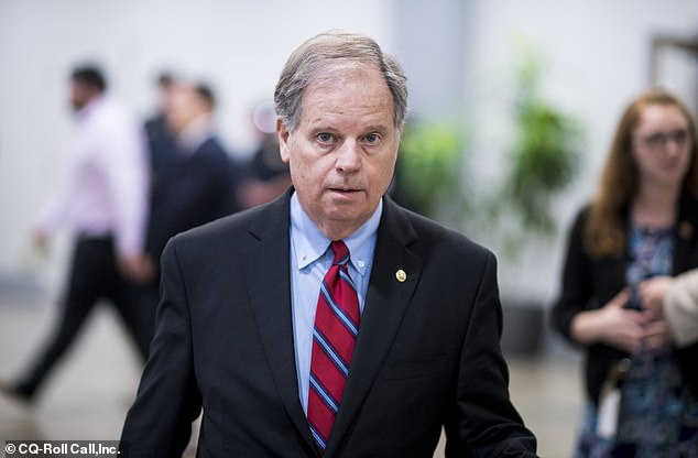 Democratic Sen. Doug Jones is considered deeply in danger in the red state