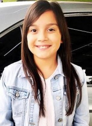 Denise Saldate, 11 (pictured), from West Covina, California, was diagnosed with a dairy allergy at age one