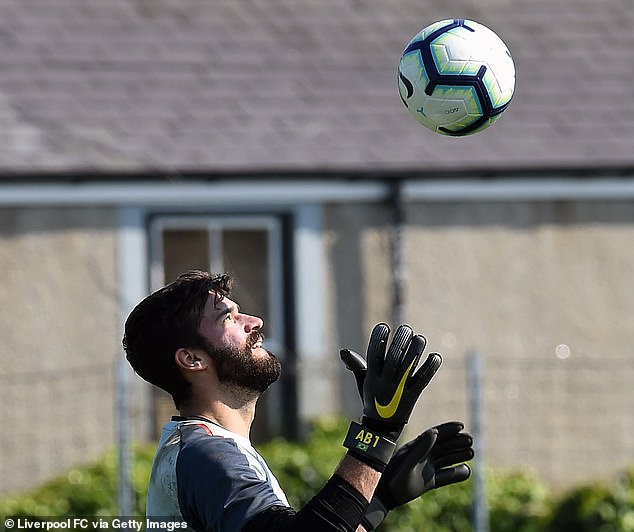 The pressure on goalkeeper Alisson Becker was great, but he was so good for Liverpool