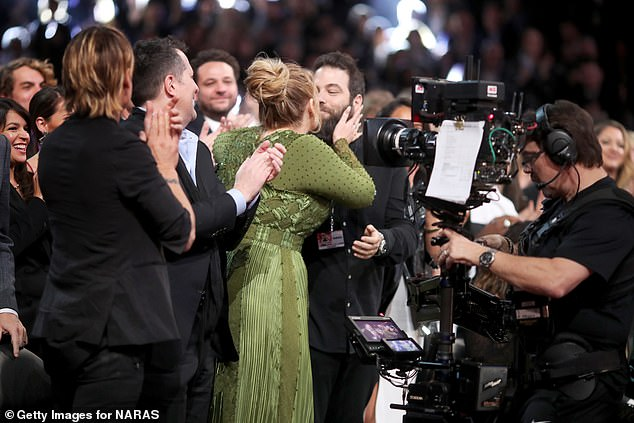 'Separate lives':And now it has been reported that Adele and Simon had been 'living separate lives for years' and 'accepted that something just isn't going to work' (pictured2017)