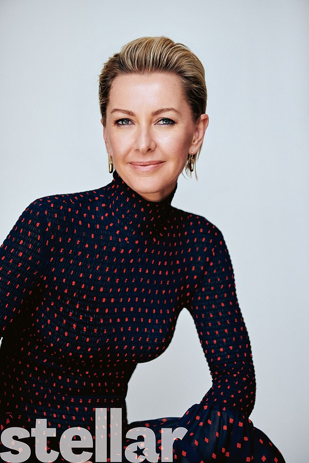 'A lot of it was just hateful': Today show anchor Deb Knight, 46, (pictured) sets the record straight on her reported 'catfight' with Georgie Gardner while speaking in Stellar magazine