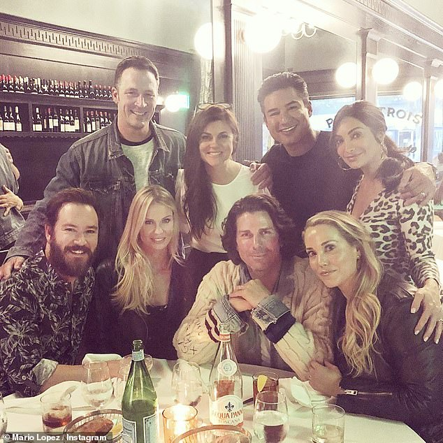 Gangs all here:The cast of Saved By The Bell had a mini-reunion in Los Angeles on Saturday