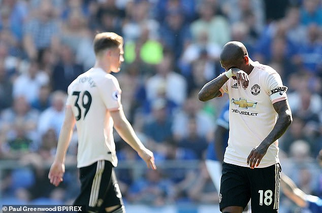 United's top-four hopes were dealt a blow after being trounced 4-0 by Everton on Sunday